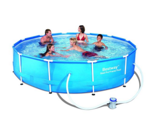 buzz pools - Intex Metal Frame Pool 12''x30''