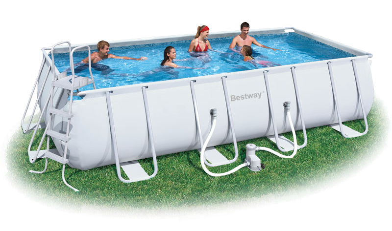 Bestway Steel Frame Pool Set U2013 R6550